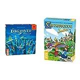 Devir El Laberinto mágico, Juego de Mesa + Carcassonne Junior Juego de Mesa, Multicolor, 275 X 65 X 19 Cm (Bgcarjtr)