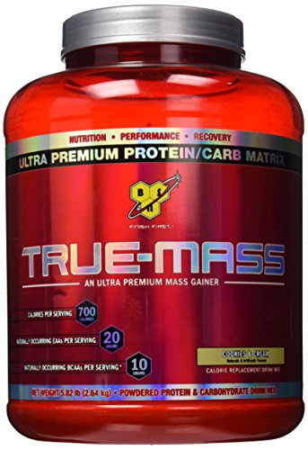 BSN True-Mass Gainer Cookies & Cream -- 5.75 lbs