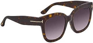 Sunglasses Tom Ford FT 0613 -F Beatrix- 02 52T dark havana / gradient bordeaux
