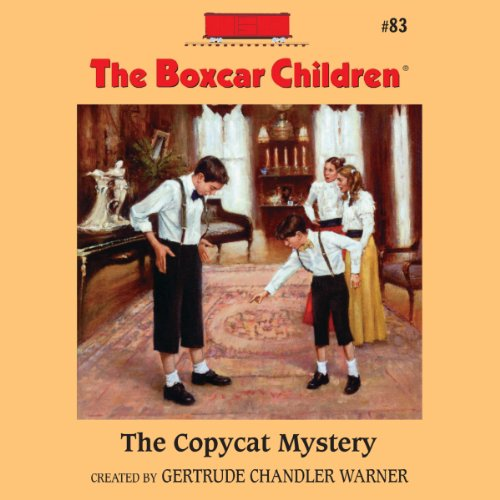 The Copycat Mystery audiobook cover art