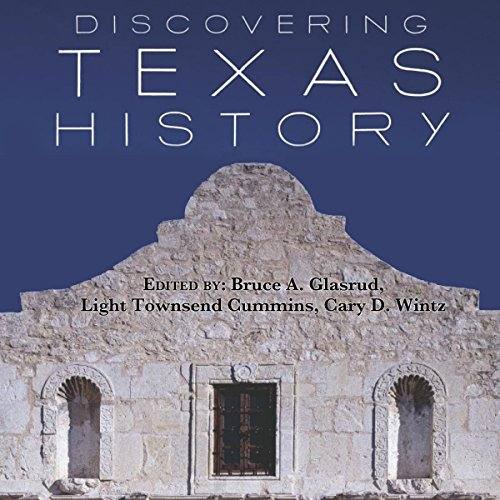 Discovering Texas History audiobook cover art