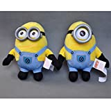 Despicable Me Minions Oficial 3D Eyes 6' Dave & Stewart juguete suave