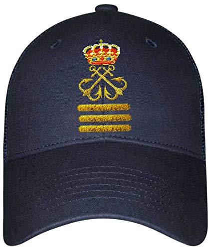 Gorra Lisa Capitán de Yate (CY) (Azul Marino)
