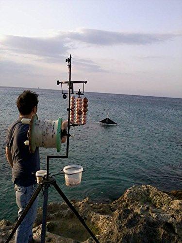 Il palamito. Pesca in mare dalla barca