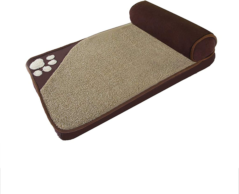 QUD Kennel, piccolo e lavabile cane di medie dimensioni Golden Retriever cuscino nido kennel (colore: D, Dimensione:* 85 * 45cm)