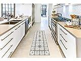 Oedim Alfombra Mosaicos Color Gris para Habitaciones 2 PVC   60 x 120 cm   Moqueta PVC   Suelo vinílico   Decoración del Hogar   Suelo Sintasol   Suelo de Protección  
