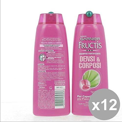 Set 12 FRUCTIS Shampoo 250 Densi&Corposi Fortificante Prodotti per capelli