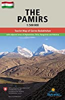The Pamirs / Pamir 1 : 500 000: Tourist map of Gorno Badakhshan with adjacent areas of Afghanistan, China, Kyrgyzstan and Pakistan