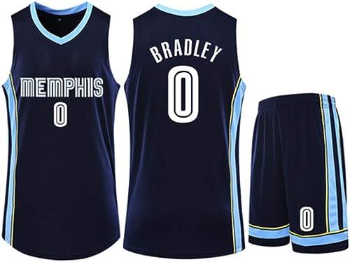 Grizzlies Conley 11 De Haute Qualité Basketball Jersey Uniforms Sports Chemises De Basket-Ball Cousu Hommes T-Shirt Jackson 13,bleu(0)-XXXXL