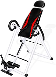 HAIPHAIK Heavy Duty Inversion Tabl - Adjustable Inversion Therapy Table,Back Stretcher Machine for Pain Relief Therapy
