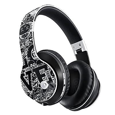Wireless Over Ear Headphones Bluetooth 5.0 Head...