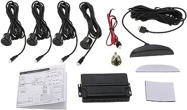 $34 » Car Auto 4-Sensor Parking Radar Kit Reverse Radar Alarm System Car Reverse Parking Radar System(LED Digital Display)