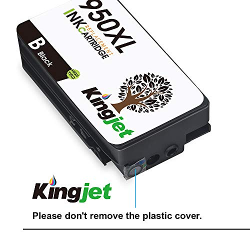KINGJET Compatible Ink Cartridge Replacement for 951, 951XL Work with Officejet Pro 8100 8600 8610 8615 8620 8625 8630 Printers, (2Magenta, 2Cyan, 2Yellow) Photo #8