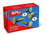 APLI 12285 - Encuadernadores metálicos con arandela 18 mm 100 u.