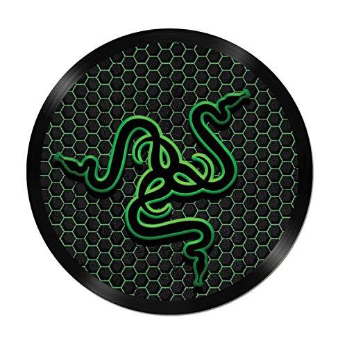 Raptor Hunting Solutions Cache-moyeux Autocollants pour Jantes 4pcs x 70mm Snake Play de Voiture Tuning Vinyle