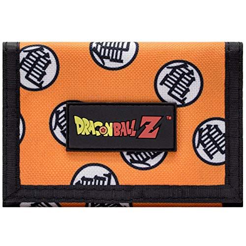 Dragon Ball Z Maître Roshi Kanji Portefeuille Orange
