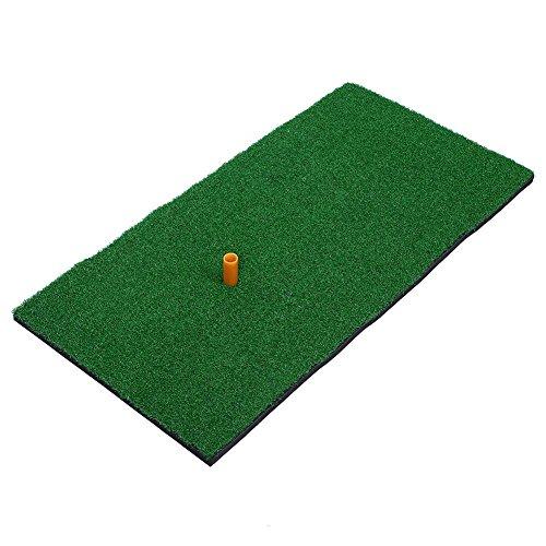 Relefree Golf Mat Premium Residential Backyard Golf training Practice Hitting Mat spessore 1,5 cm con supporto in gomma