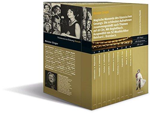 Meister Singer, Magische Momente des klassischen Gesangs, 18 Audio-CDs + Begleitbuch