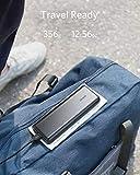 Anker Powerbank, PowerCore 20100mAh Externer Akku, hohe Kapazität 2-Port 4,8 A Output Ladegerät mit PowerIQ Technologie für iPhone, iPad, Samsung Galaxy und viele mehr (in Schwarz/Matt) - 4