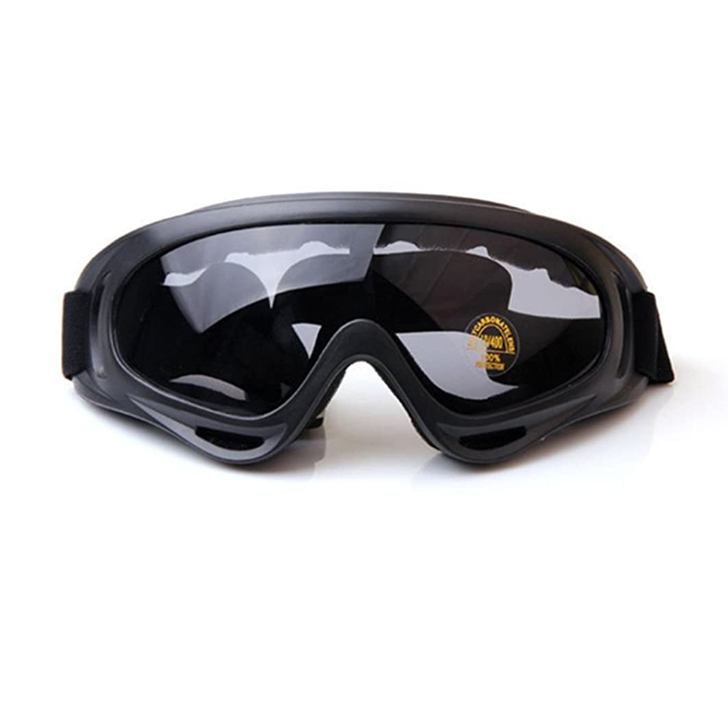 4-FQ Adjustable UV Protective Outdoor Glasses Motorcycle Goggles Dust-Proof Protective Combat Goggles Sunglasses Outdoor Tactical Goggles to Prevent Particulates