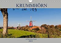 Krummhoern im Panorama-Format (Wandkalender 2022 DIN A4 quer): Beeindruckende Panorama-Aufnahmen aus Krummhoern in Ostfriesland (Monatskalender, 14 Seiten )