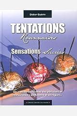 Tentations roannaises : Sensations sucrées Paperback