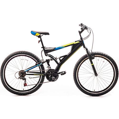 26 Inch Mountain Bike丨mountain Bike丨21 Speed Full Suspension Road Bikes丨Linear Pull Handbrake Mountain Bikes for Men/Women Weight: 330lbs