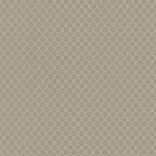 Casa Padrino Luxus Stofftapete Beige/Creme/Grau/Silber - 10,05 x 0,53 m - Textiltapete mit leicht strukturierter Oberfläche