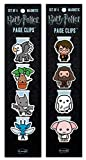 Re-Marks Harry Potter Creatures and Hogwarts Literary Collection Magnetic Page Clip 2-Pack