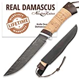 Damascus Steel Knife...image