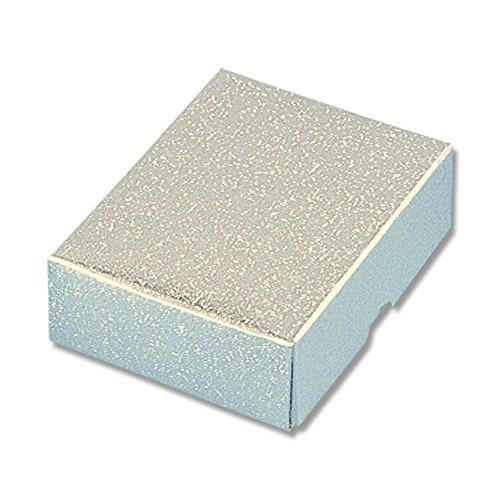 ヘイコー 箱 ギフトボックス A-2 アクセサリー用 銀 L 6.7x8.5x30cm 50枚