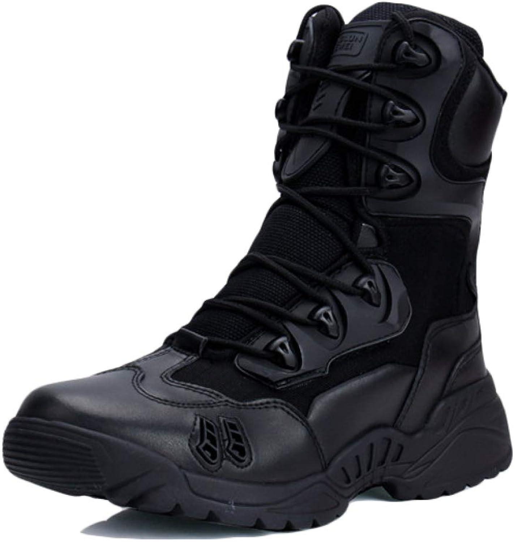 LIJUN Snow stövlar Genuineläder män Ankle Winter High Top Keep Keep Keep Warm män skor Storlek 38 -44  fabriks direkt och snabb leverans