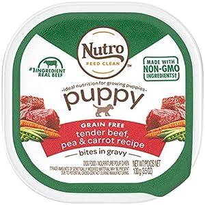 Nutro Cuts in Gravy Grain Free Wet Dog Food Adult & Puppy, 3.5 oz Trays