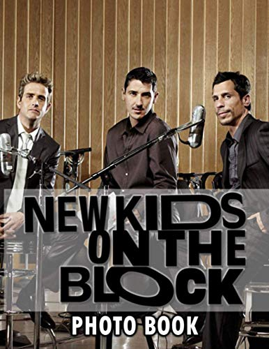 New Kids On The Block Photo Book: Perfect Gift Unique Image Book Books For Adults, Tweens Relaxing Photo Pages