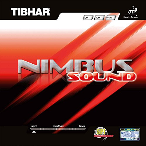Tibhar Belag Nimbus Sound, rot, 1,8 mm