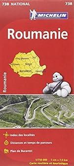 Carte NATIONAL Roumanie de Collectif Michelin