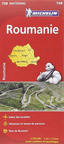 Carte NATIONAL Roumanie
