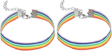 I braccialetti dell/'amicizia in tessuto LOTTO all/'ingrosso di 6 CORDE FASCE Braccialetto Surfista DESIDERIO