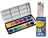 Herlitz 10116655 Schulmalfarben bzw. Deckfarbkasten