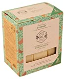 crate 61 coconut soap 3 pack, 100% vegan cold process, scented with premium food grade organic