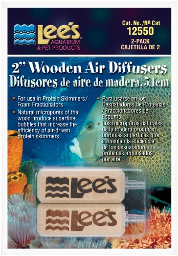 Lee's 2-Inch Wooden Air Diffuser, 2-Pack