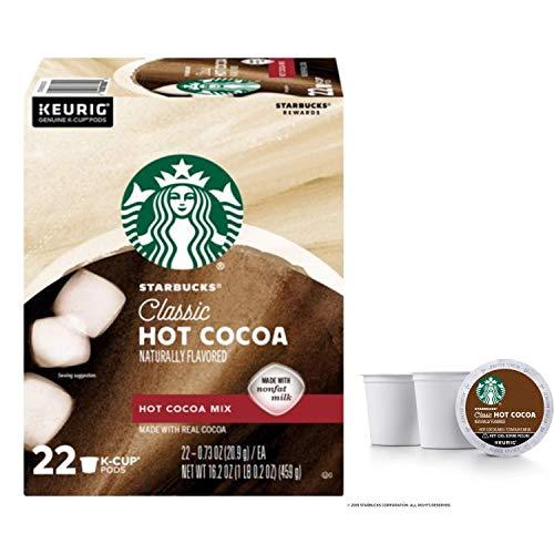 Starbucks Classic Hot Cocoa Single Serve Pods...