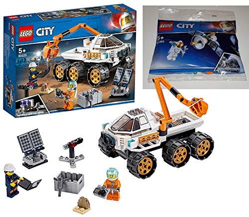 LEGO 60225 - City Rover-Testfahrt, Bauset 30365 Raumfahrtsatellit Bausteine, Bunt