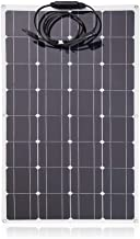 Civigrape 100W Monocrystalline Flexible Solar Panel Module Outdoor Solar Power Charging System