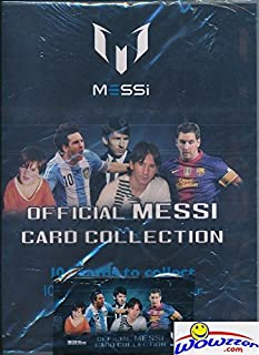 Sponsored Ad - Lionel Messi Official Card Collection Starter Kit with Collectors Binder that holds up to 126 Cards! Includ...