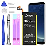 Galaxy S8 Battery, (Upgraded) Conqto 3450mAh 3.85V Li-Polymer Replacement Battery EB-BG950ABE for Samsung Galaxy S8 SM-G950 G950V G950A G950T G950P G950R4 with Repair Tool Kit