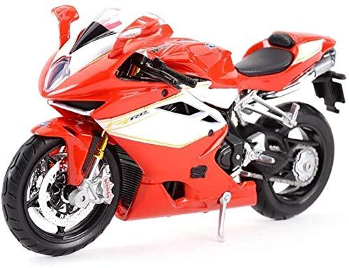XINGDONG Modelo de la Motocicleta 1/12 Juguete de la decoración, for los Muchachos Niños Niños Durable
