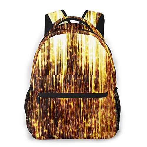 Laptop Rucksack Daypack Schulrucksack Backpack Sternschnuppen, Business Taschen Freizeit Rucksack Arbeits Schultasche für Herren Männer Schüler Schule