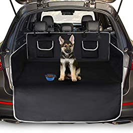 Toozey Car Boot Protector for Dog – Universal Nonslip Car Boot Dog Blanket with Side Protection and Bumper Protection, Waterproof and Antifouling, Robust Protective Mat for Dogs, Easy to Clean