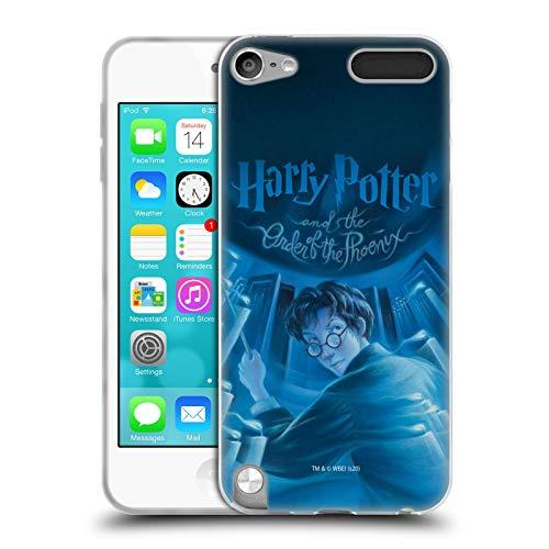 Head Case Designs Licenciado Oficialmente Harry Potter Orden del Fénix Cubiertas Literarias Carcasa de Gel de Silicona Compatible con Apple iPod Touch 5G 5th Gen
